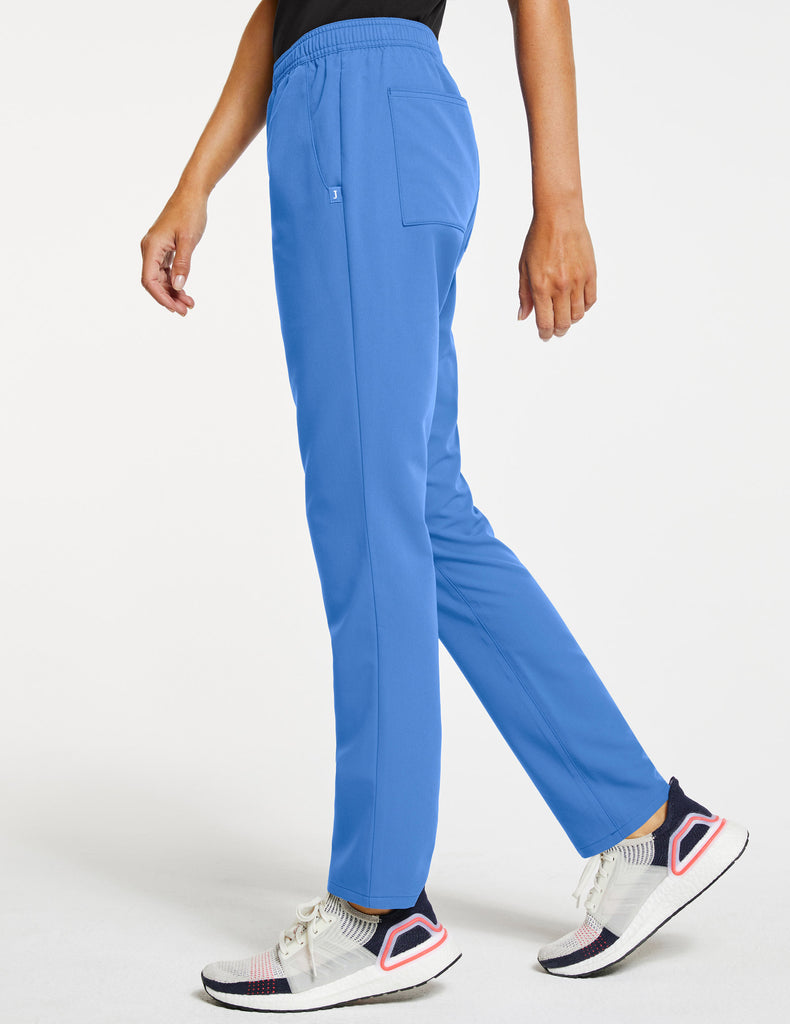 Jaanuu | Women's Essential Relaxed Pant - Ceil Blue - 3