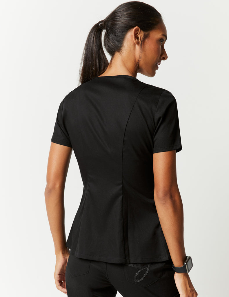 Jaanuu | Snap Front Top - Black - 3