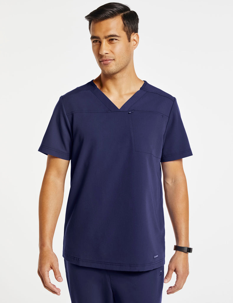 Jaanuu | Men's Hidden-Pocket Top - Navy - 1