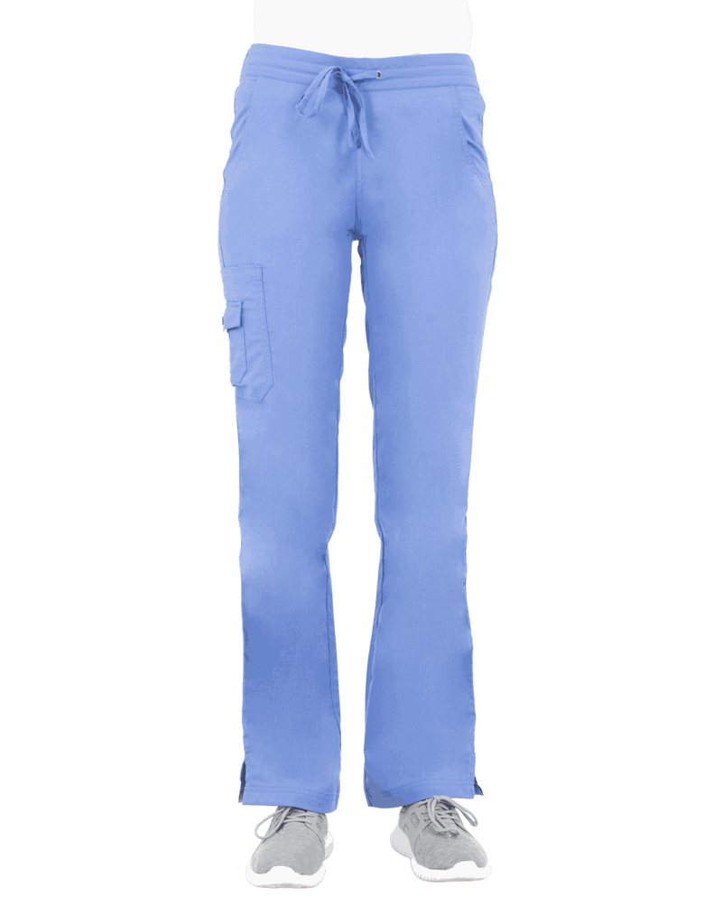 Life Threads | Women's Ergo 2.0 Cargo Pant - Ceil Blue - 1