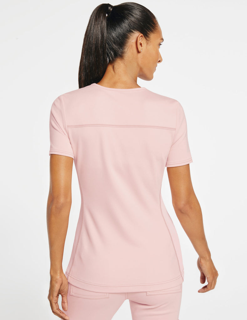 Jaanuu | Women's 2-Pocket Side-Rib Top - Blushing Pink - 4