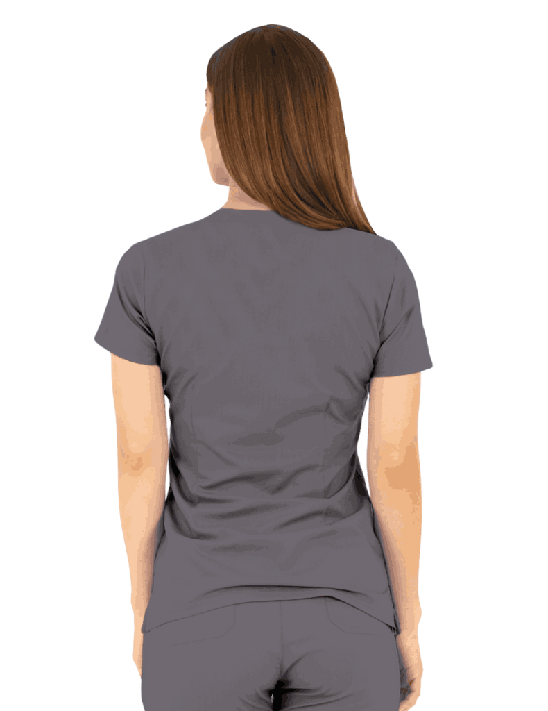 Life Threads | Women's Ergo 2.0 Utility Top - Pewter - 4
