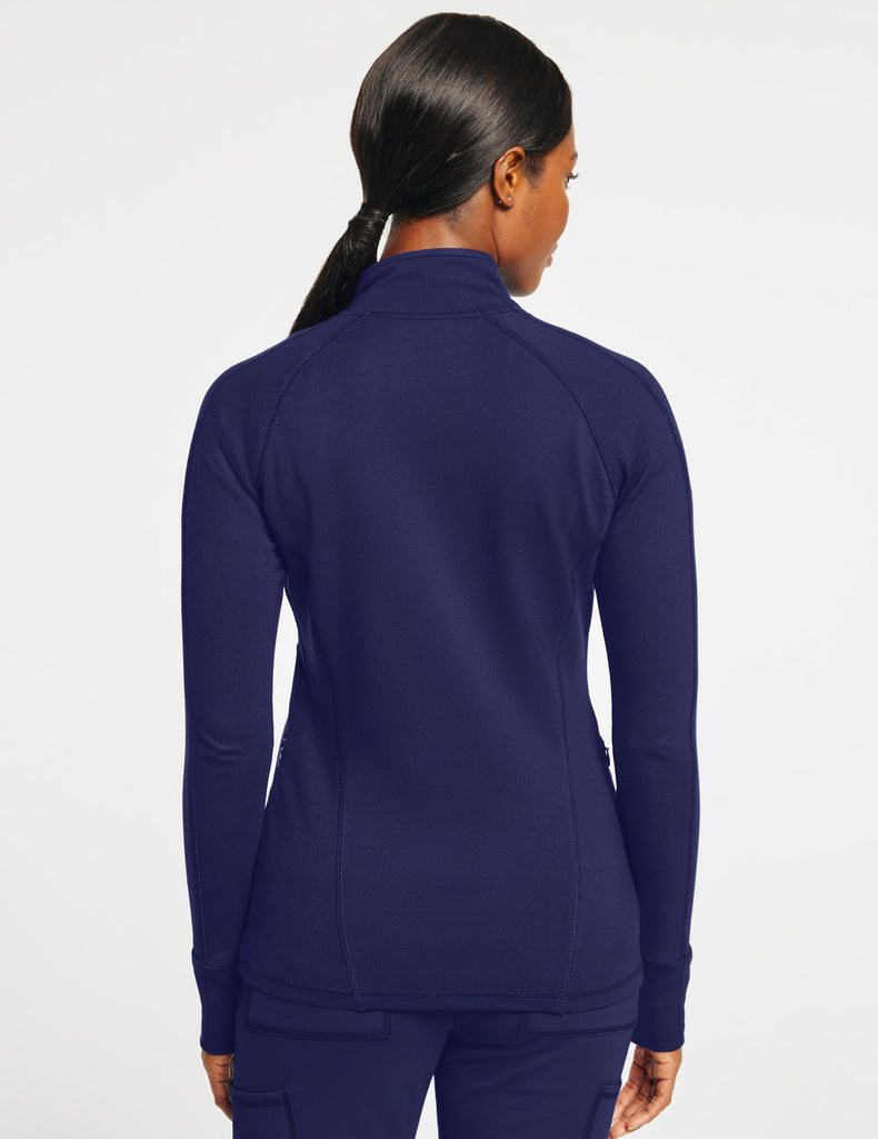 Jaanuu | Women's Slim Athletic Jacket - Navy - 4