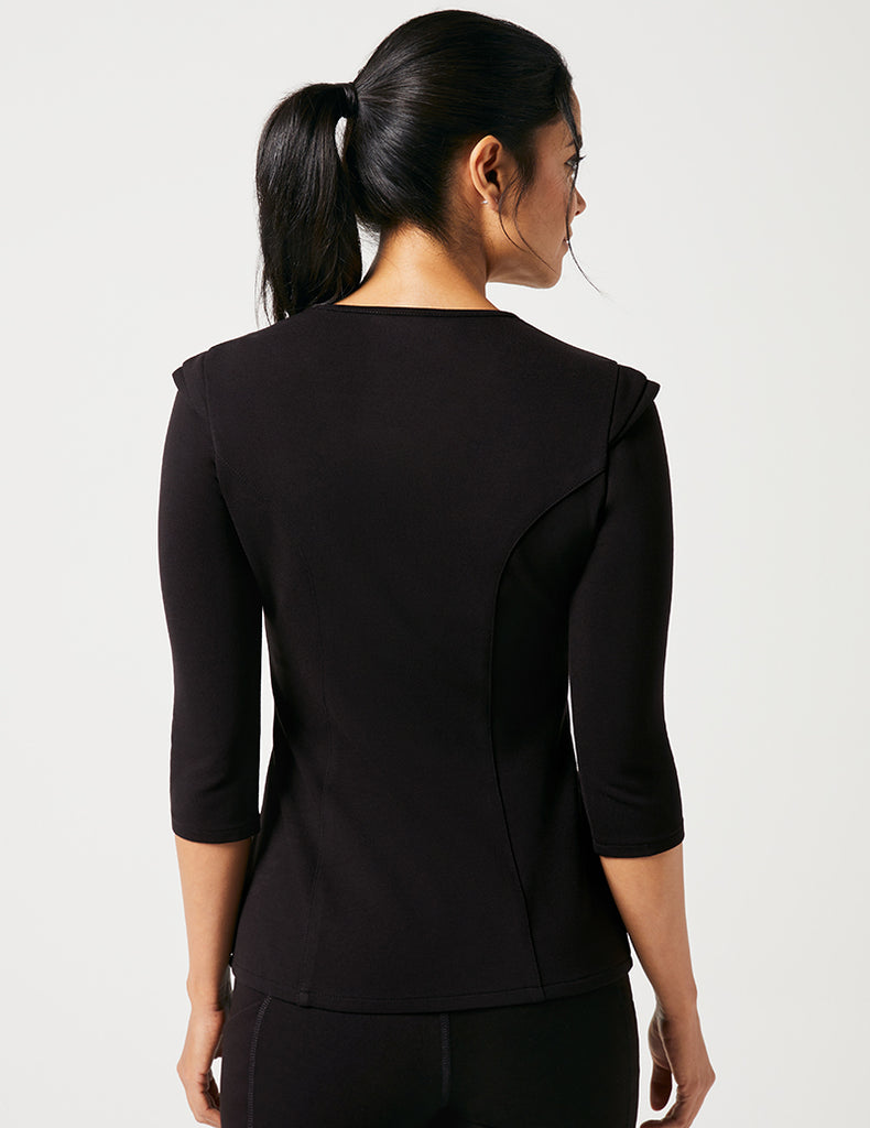 Jaanuu | Cap Sleeve Top - Black - 4