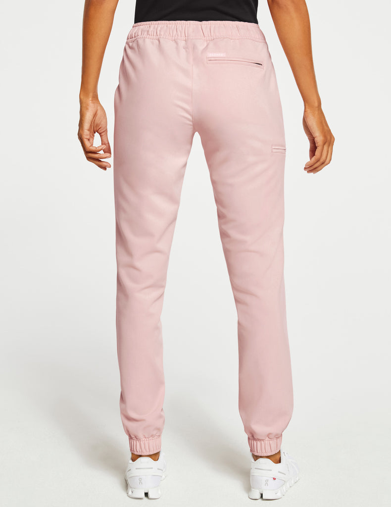 Jaanuu | Women's Essential 5-Pocket Jogger - Blushing Pink - 4
