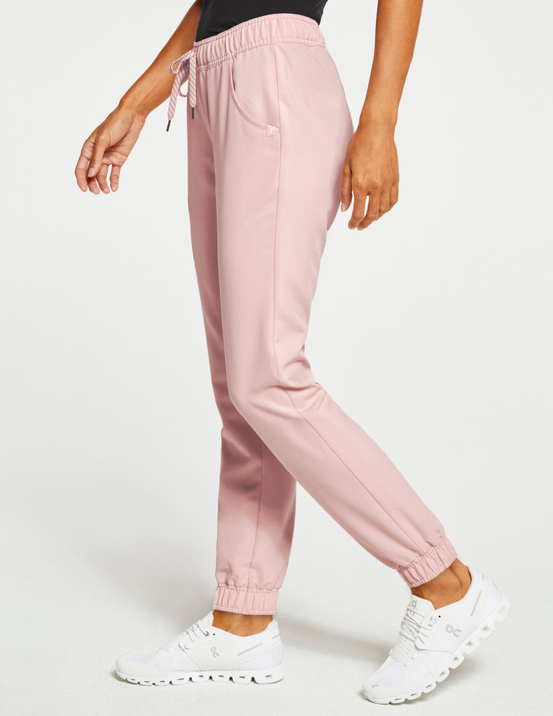 Jaanuu | Women's Essential 5-Pocket Jogger - Blushing Pink - 3