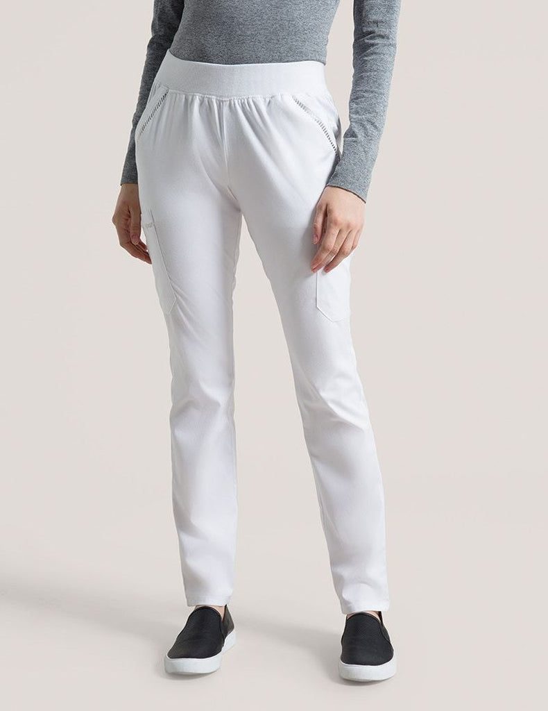 Jaanuu | Ladder Lace Pant - White - 1