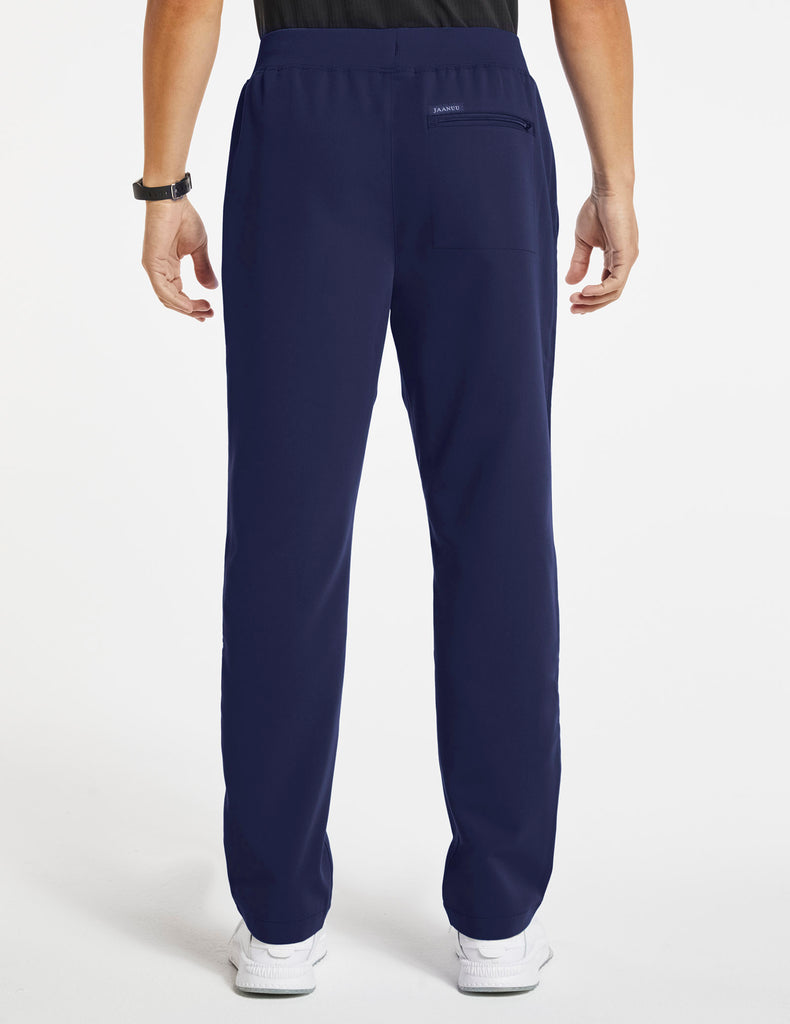 Jaanuu | Men's 4-Pocket Relaxed-Fit Pant - Navy - 4