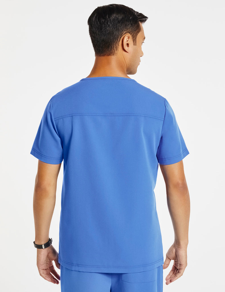 Jaanuu | Men's Hidden-Pocket Top - Ceil Blue - 4