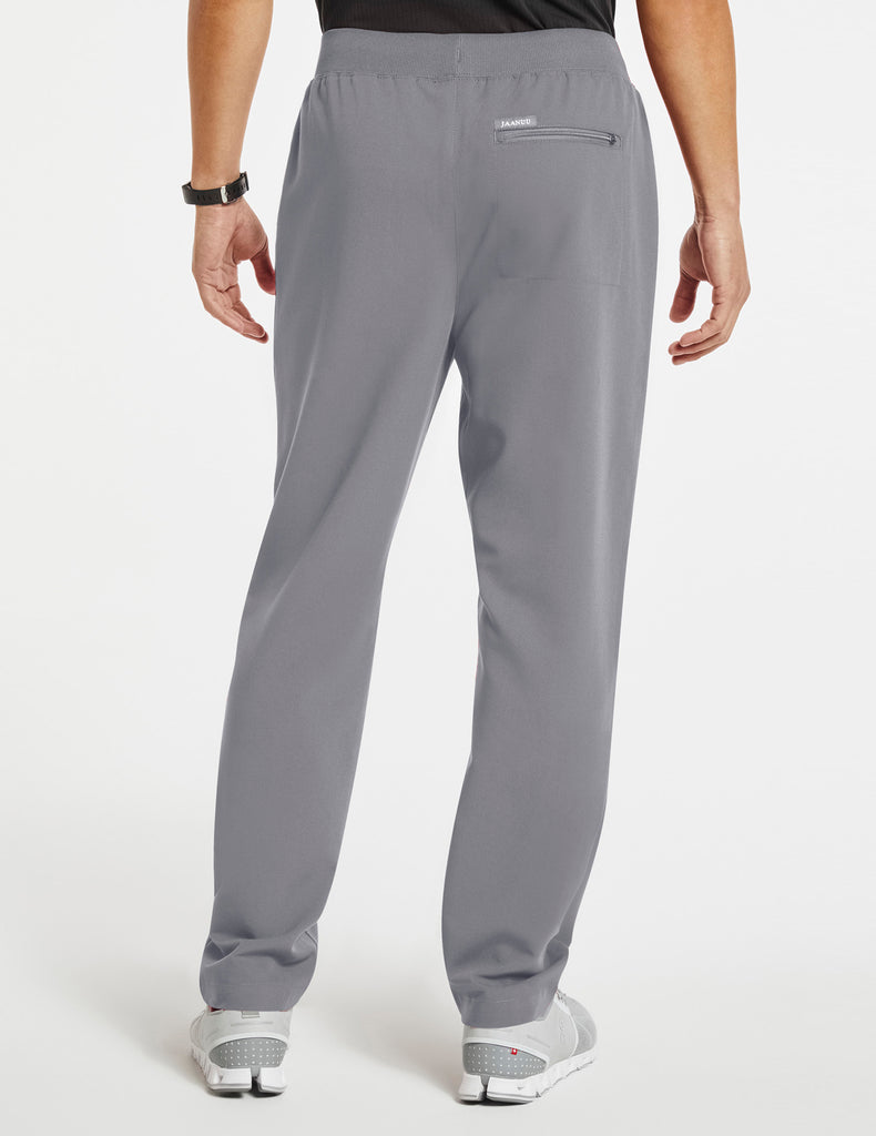 Jaanuu | Men's 4-Pocket Relaxed-Fit Pant - Gray - 4