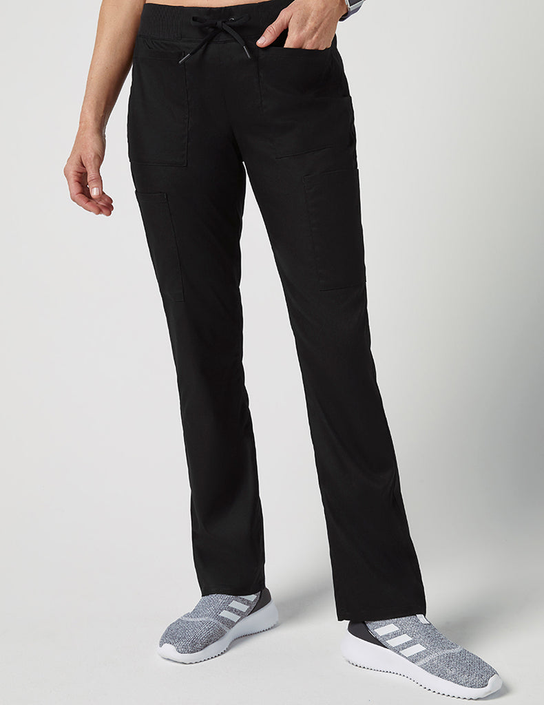 Jaanuu | Drawstring 6 Pocket Pant - Black - 1