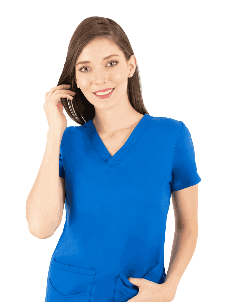 Life Threads | Women's Ergo 2.0 Utility Top - Royal Blue - 1