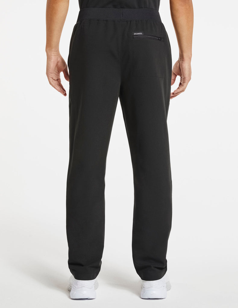 Jaanuu | Men's 4-Pocket Relaxed-Fit Pant - Black - 4