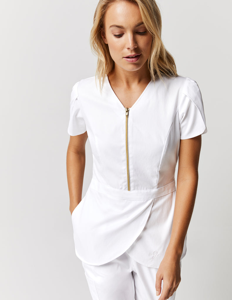 Jaanuu | Tulip Top - White - 1
