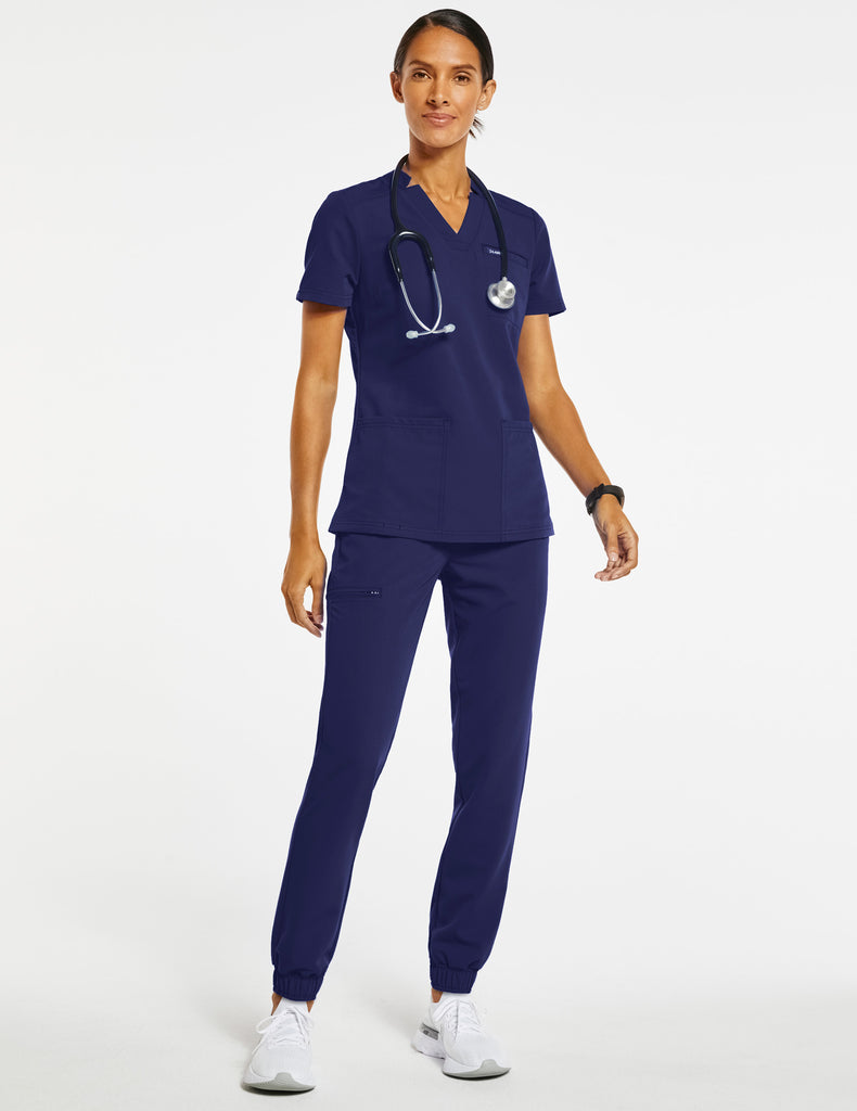 Jaanuu | Women's Essential 5-Pocket Jogger - Navy - 2