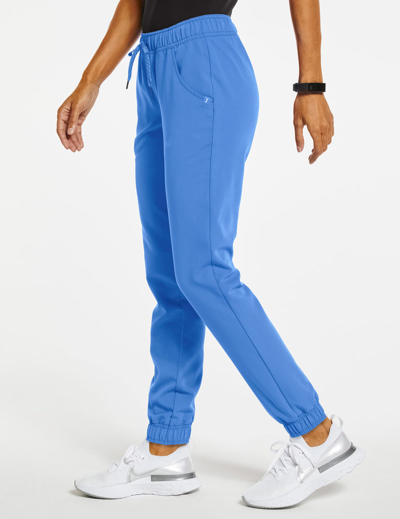 Jaanuu | Women's Essential 5-Pocket Jogger - Ceil Blue - 3
