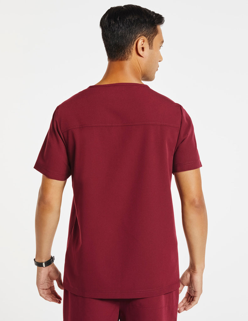 Jaanuu | Men's Hidden-Pocket Top - Wine - 4