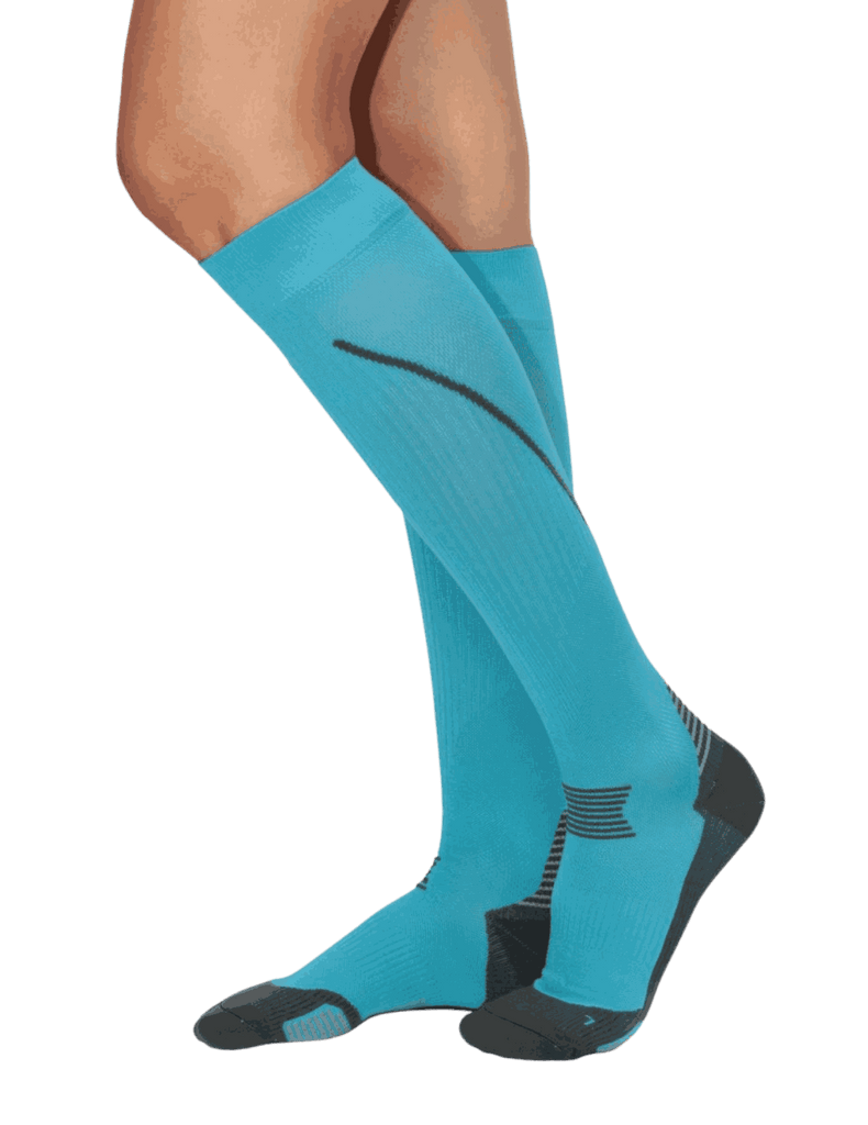 Life Threads | Compression Socks - Teal - 1