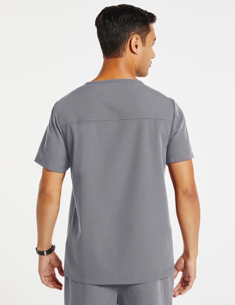 Jaanuu | Men's Hidden-Pocket Top - Gray - 4