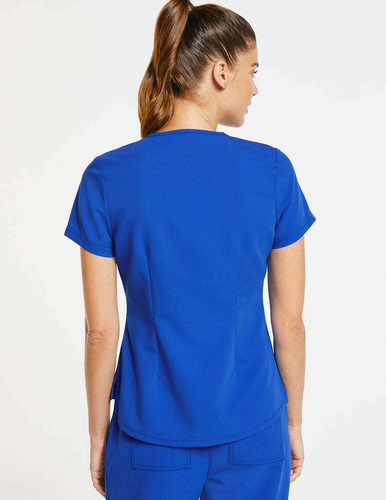 Jaanuu | Women's 1-Pocket Tuck-In Top - Royal Blue - 4