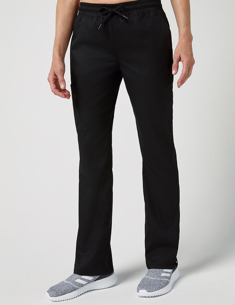 Jaanuu | Straight Leg 4 Pocket Pant - Black - 1