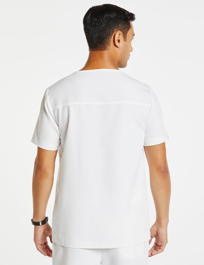 Jaanuu | Men's Hidden-Pocket Top - White - 4