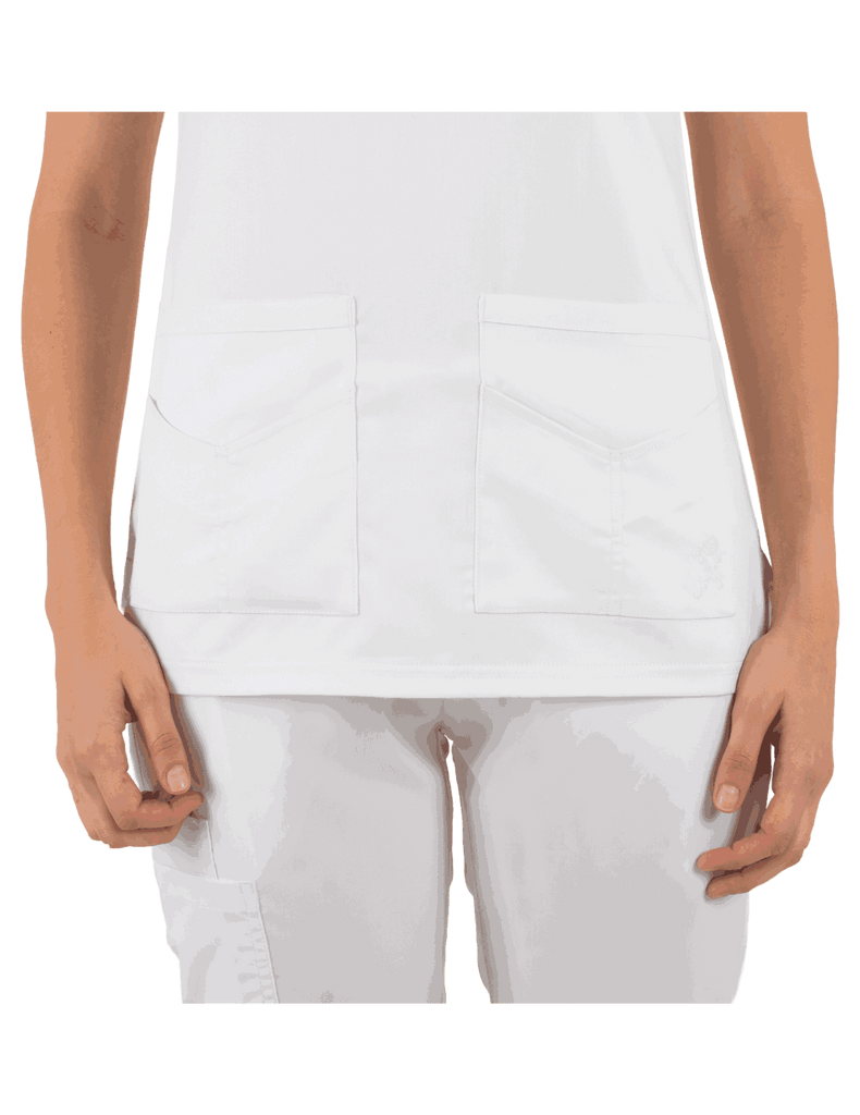 Life Threads | Women's Ergo 2.0 Utility Top - White - 3