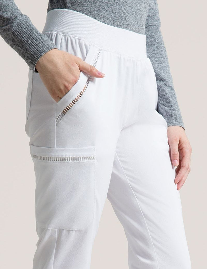 Jaanuu | Ladder Lace Pant - White - 4