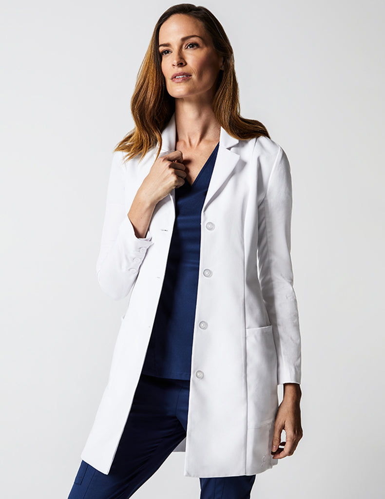 Grace Lab Coat - White