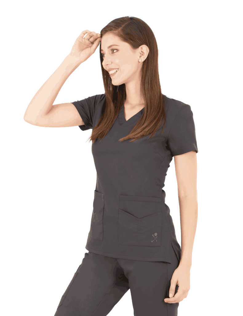 Life Threads | Women's Ergo 2.0 Utility Top - Pewter - 1