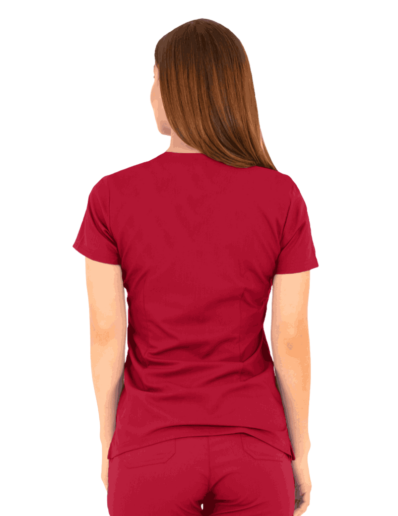 Life Threads | Women's Ergo 2.0 Utility Top - Red - 4