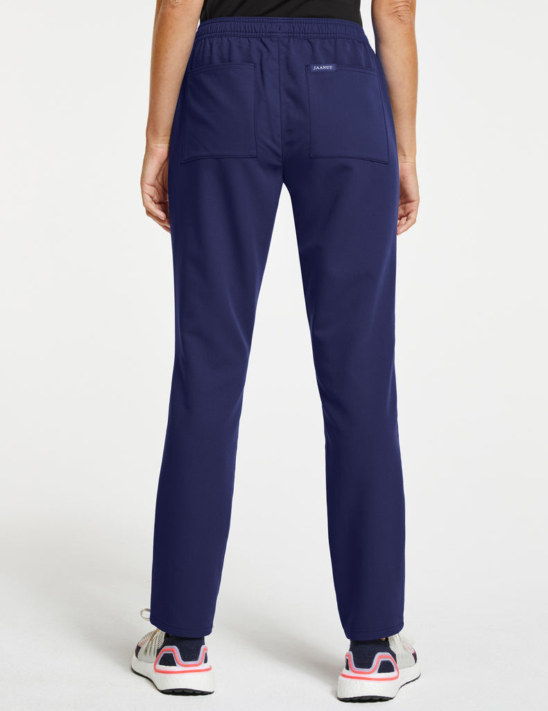 Jaanuu | Women's Essential Relaxed Pant - Navy - 4