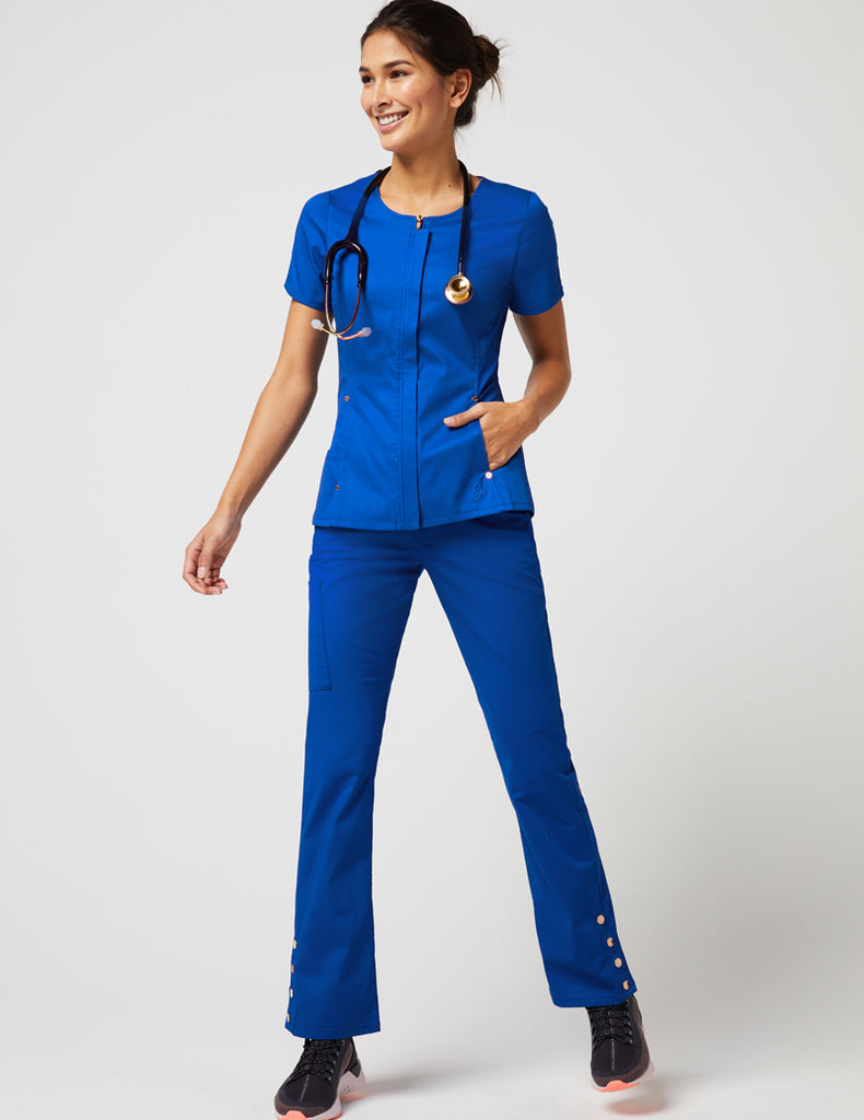 Jaanuu | Bootcut Pant - Royal Blue - 2