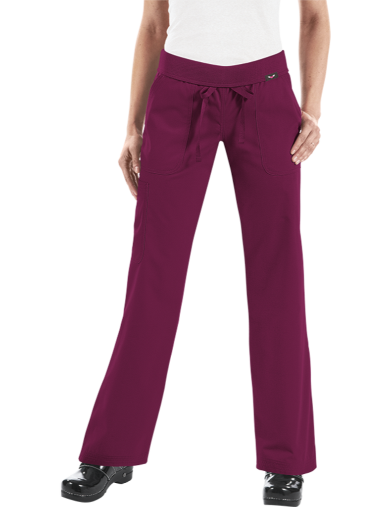Koi | Morgan Pant - Wine
