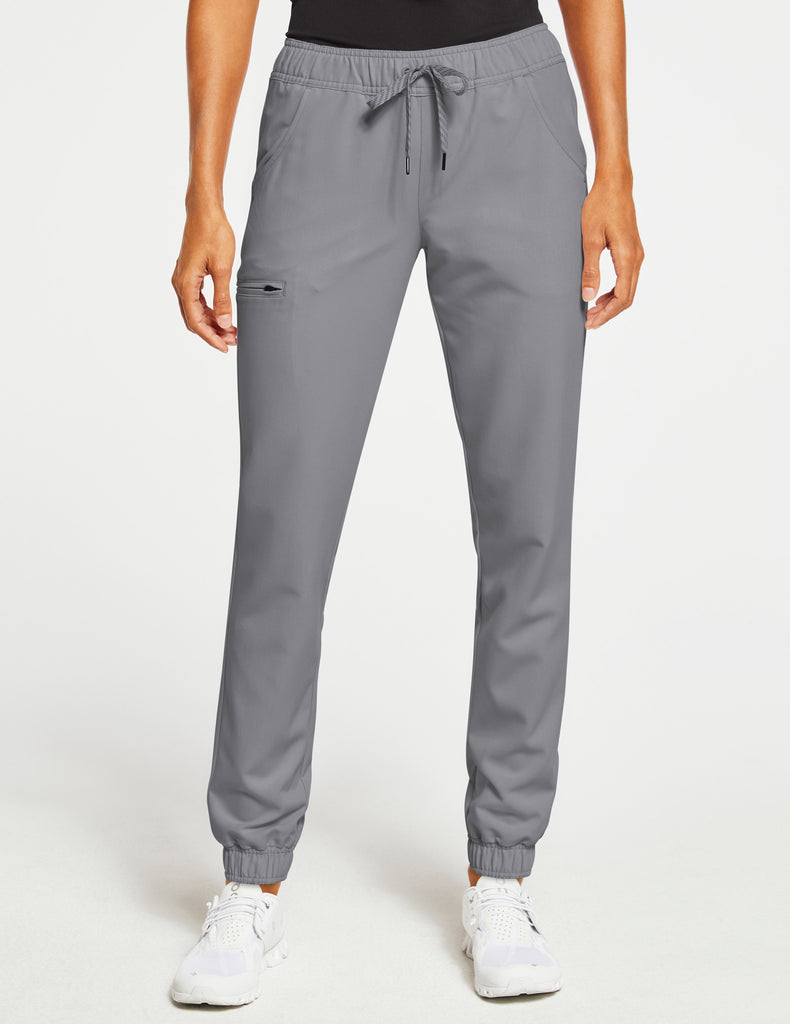 Jaanuu | Women's Essential 5-Pocket Jogger - Gray - 1