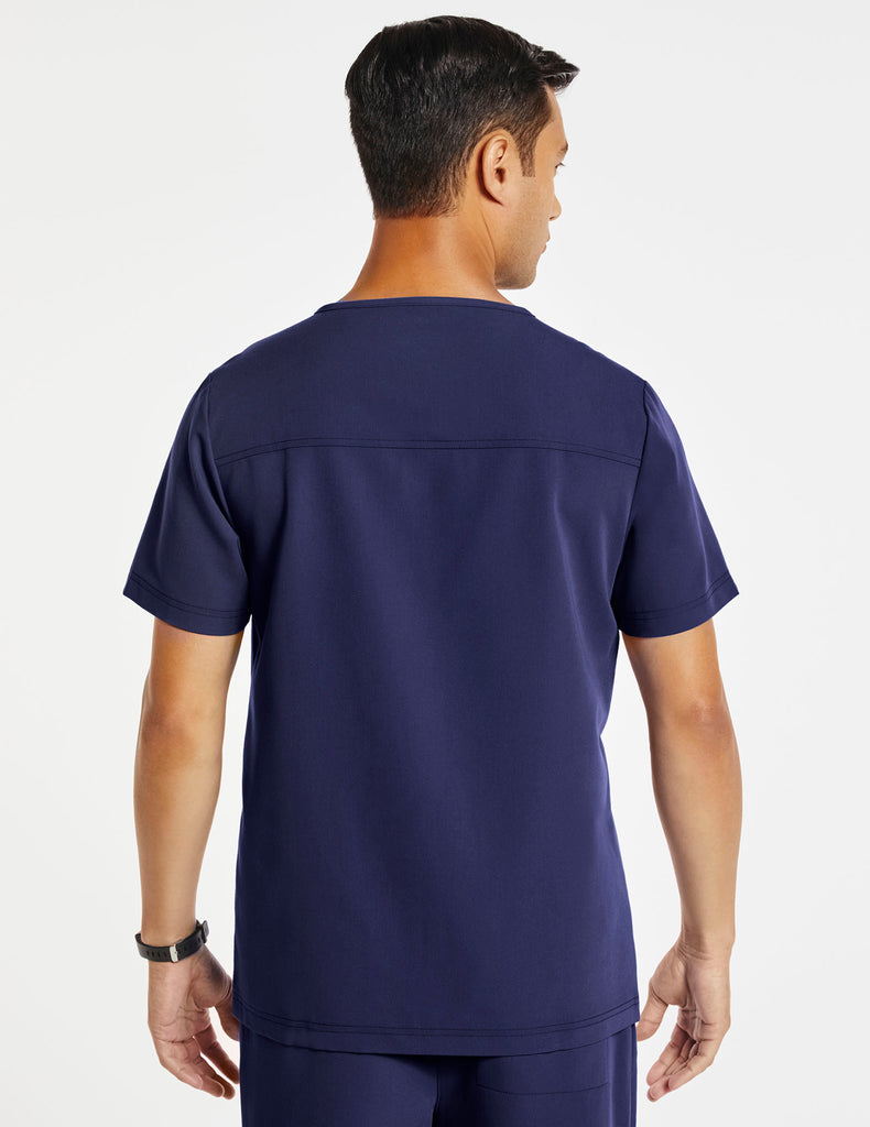 Jaanuu | Men's Hidden-Pocket Top - Navy - 4