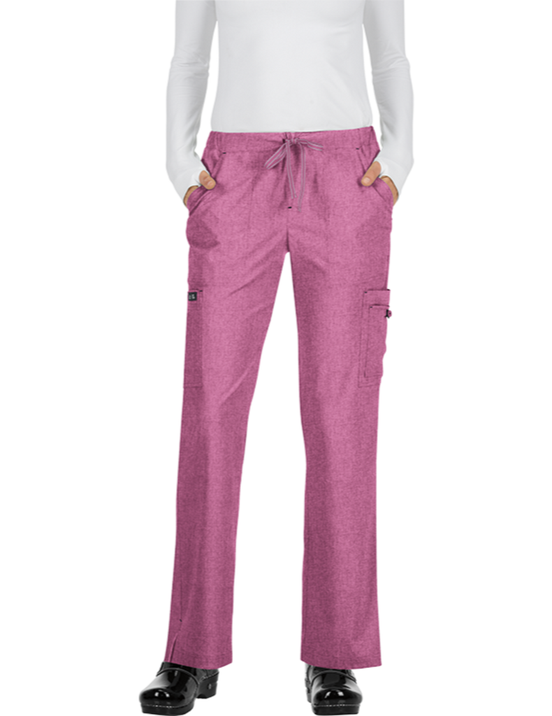 Koi | Holly Pant - Heather Azalea Pink