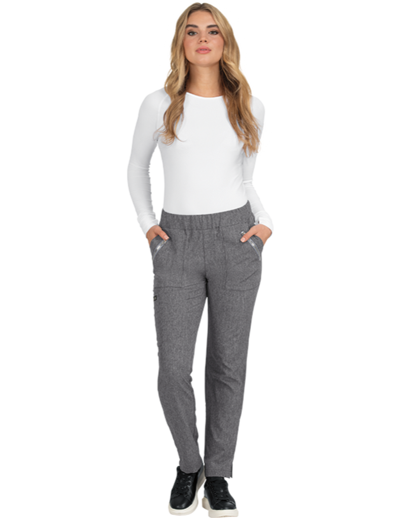 Koi | Jane Pant - Heather Grey