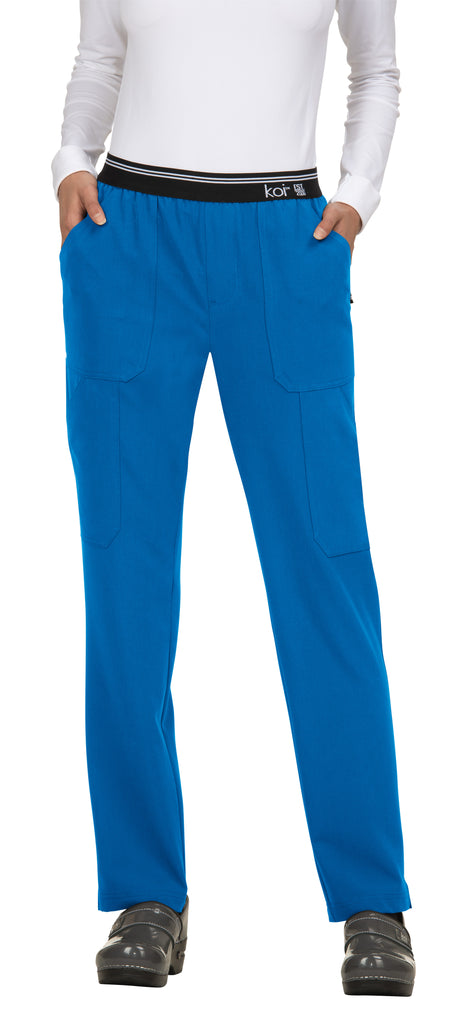 Koi | On The Run Scrub Pant - Royal Blue