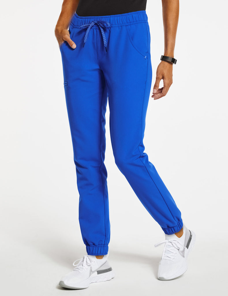 Jaanuu | Women's Essential 5-Pocket Jogger - Royal Blue - 1