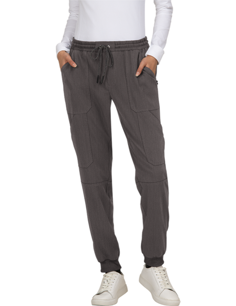Koi | Good Vibe Jogger Pant - Heather Grey