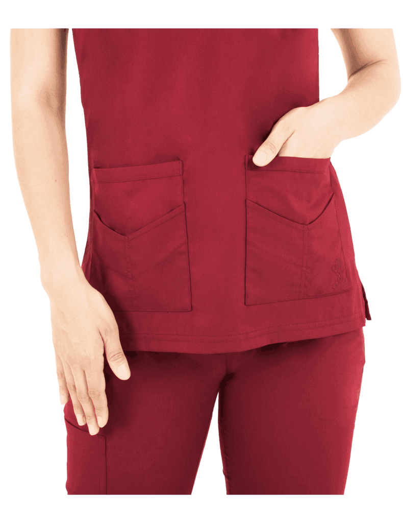 Life Threads | Women's Ergo 2.0 Utility Top - Wine - 3