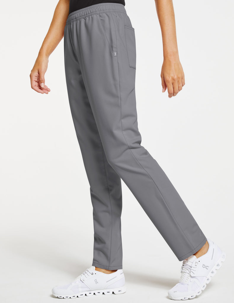 Jaanuu | Women's Essential Relaxed Pant - Gray - 3