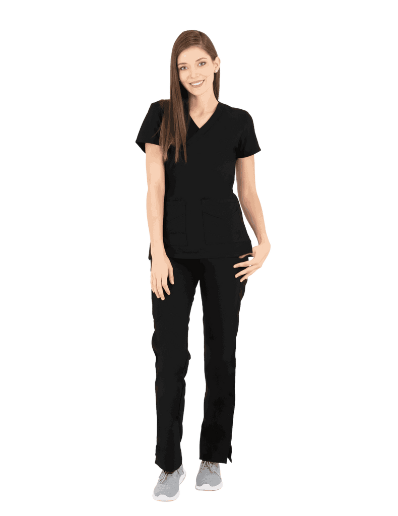 Life Threads | Women's Ergo 2.0 Utility Top - Black - 1