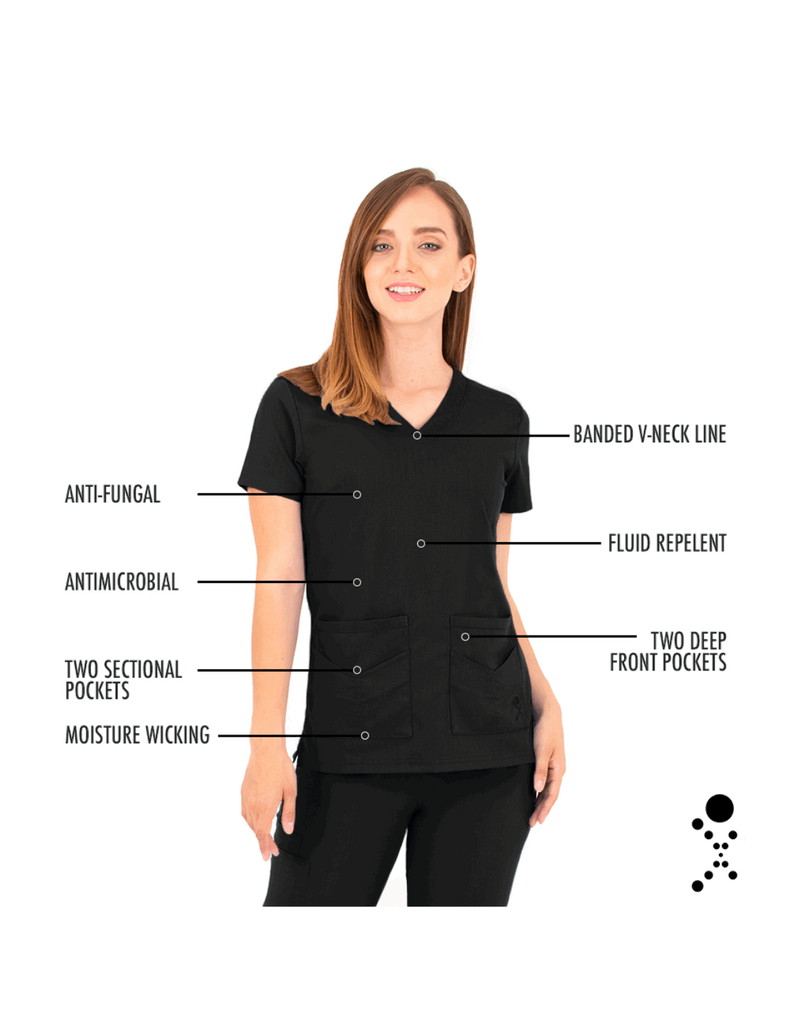 Life Threads | Women's Ergo 2.0 Utility Top - Black - 5