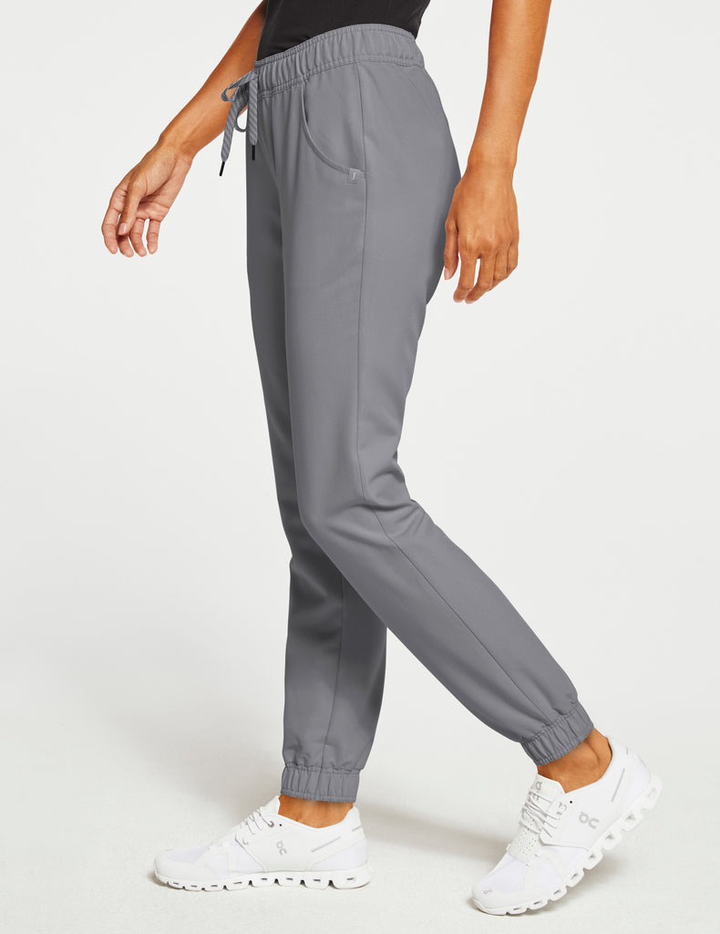 Jaanuu | Women's Essential 5-Pocket Jogger - Gray - 3