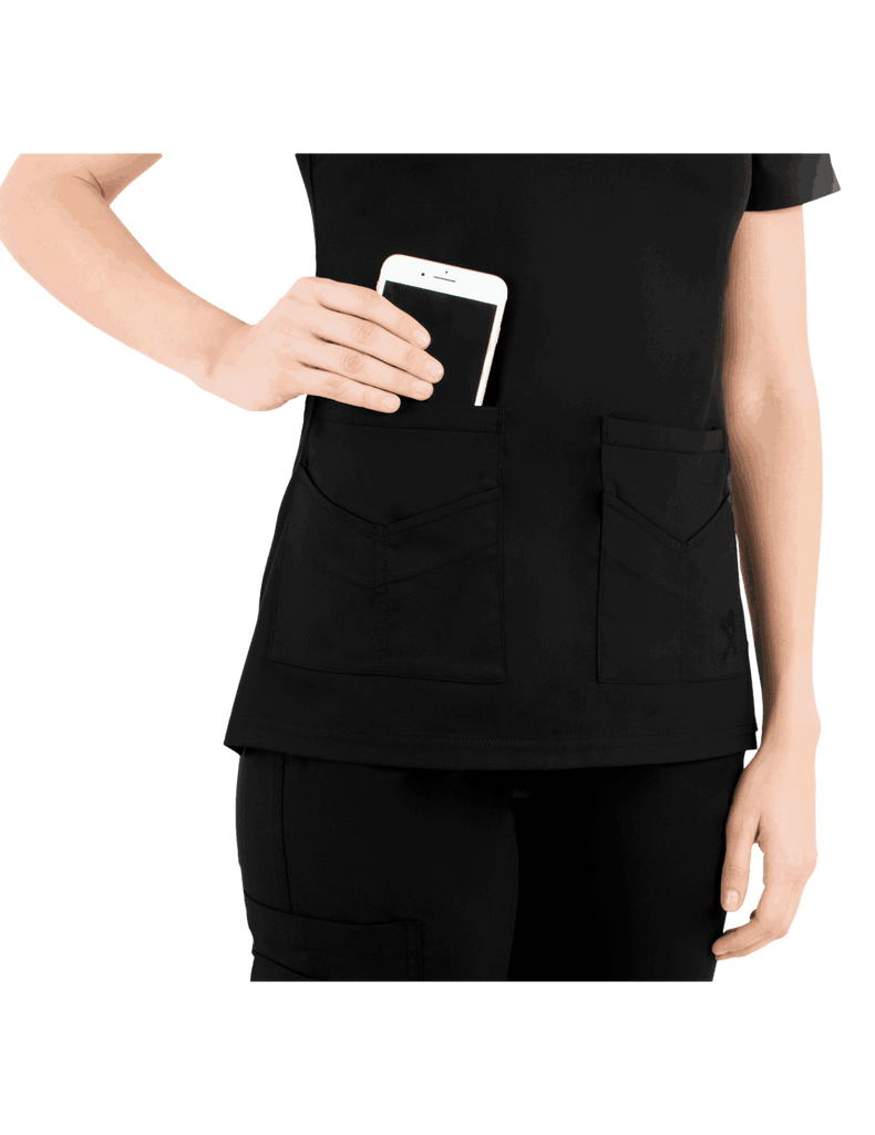 Life Threads | Women's Ergo 2.0 Utility Top - Black - 3