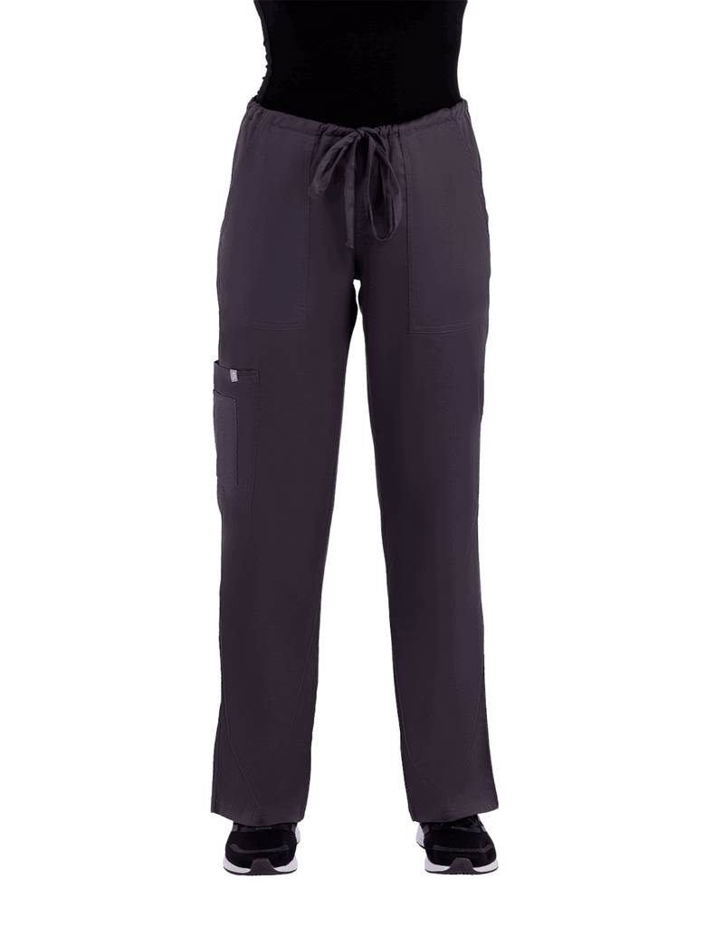 Life Threads | Women's Contego Cargo Pant - Pewter - 1