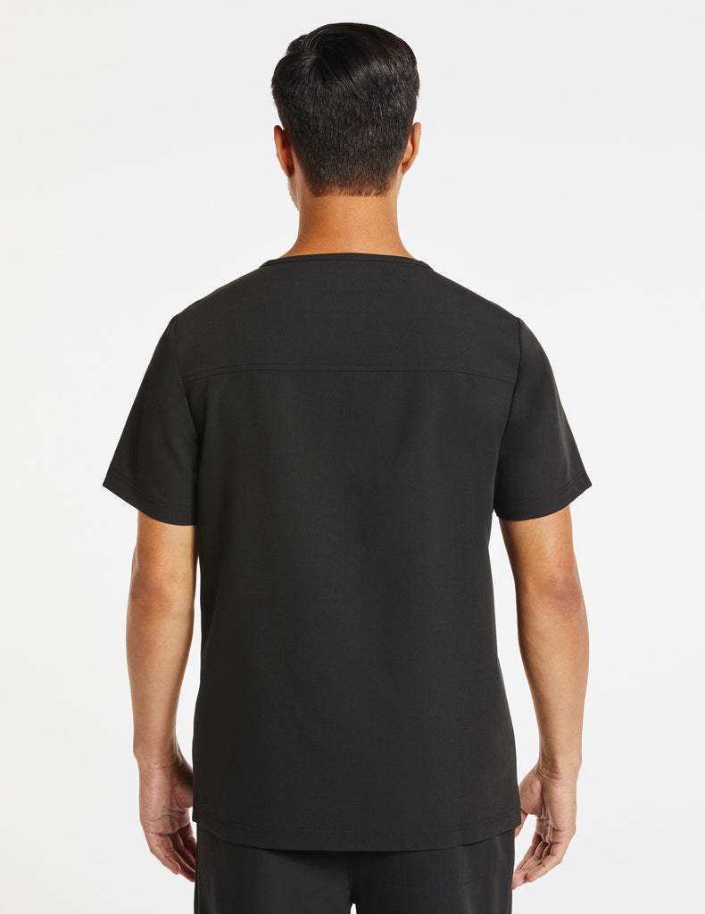 Jaanuu | Men's Hidden-Pocket Top - Black - 4