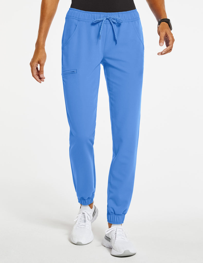 Jaanuu | Women's Essential 5-Pocket Jogger - Ceil Blue - 1